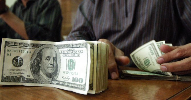 Dollar reaches close to Rs100
