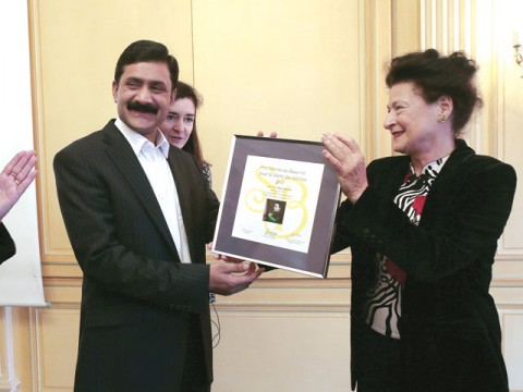 French honour Malala, father says Taliban lost fight
