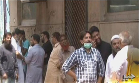 Lahore: Residential area chemical warehouse fire doused