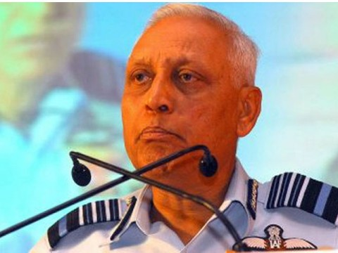 Indian ex-airforce chief home raided