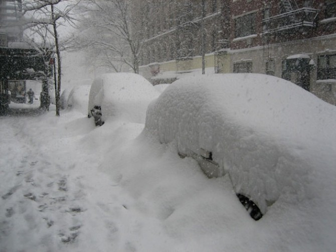 Is global warming causing harsher winters?