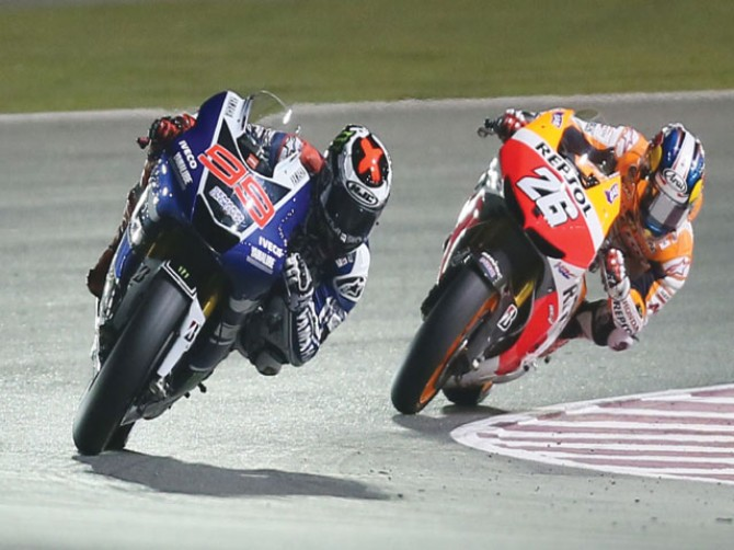 Lorenzo opens title defence with Qatar win