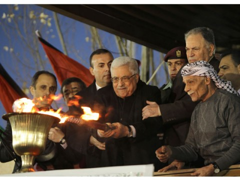 Mahmud Abbas sees Palestinian state in 2013