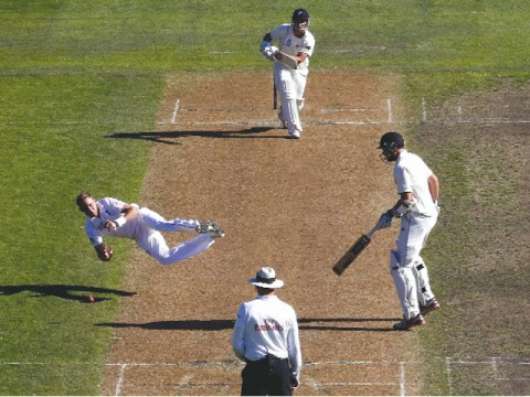 New Zealand on top after England batsmen flop