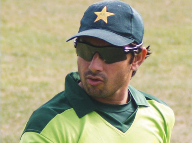 No surgery for Saeed Ajmal