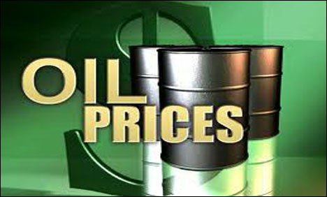 Oil prices edge higher on upbeat manufacturing data