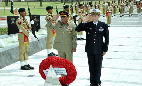 Army Chief meets Chairman EU Military Committee