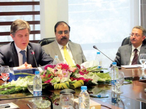 Pakistan shares less than one per cent of total exports to EU