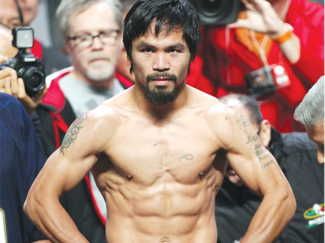 Philippines' Pacquiao to fight in September