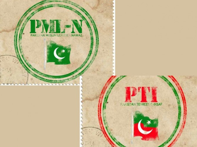 PML-N, PTI stuck in process of party tickets