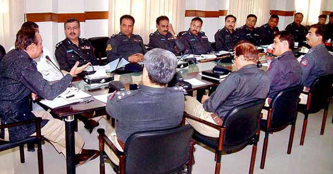 PA to be briefed on law & order by top police officers