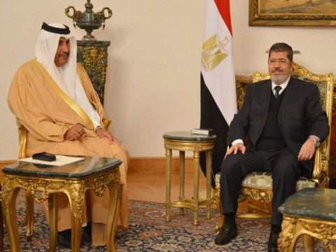 Qatar raises Egyptian aid to $5b