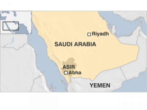 Saudi executes 7 in public by firing squad