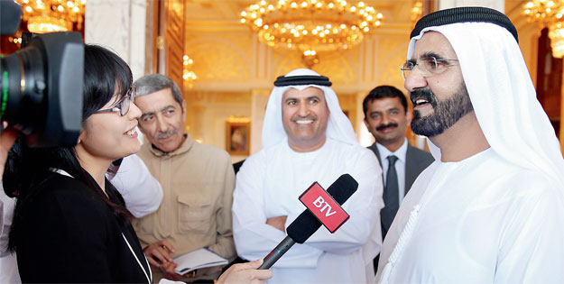 UAE is world leader in horse racing sports: Mohammed