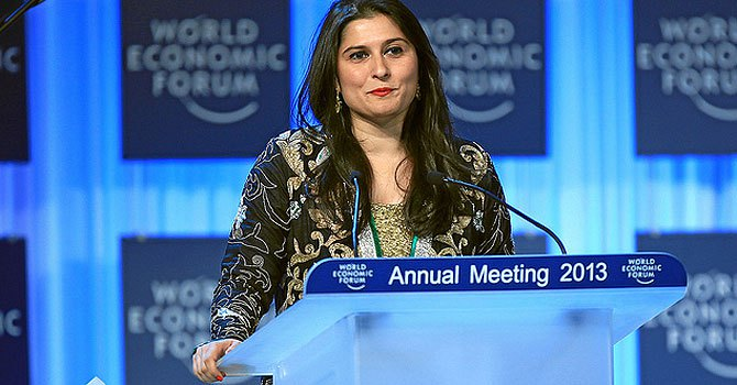 Sharmeen Obaid-Chinoy honoured with Crystal Award
