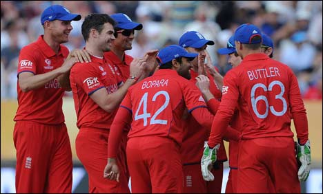 England beat Australia by 48 runs