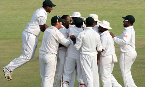 Pakistan's embarrassing Test defeat by Zimbabwe