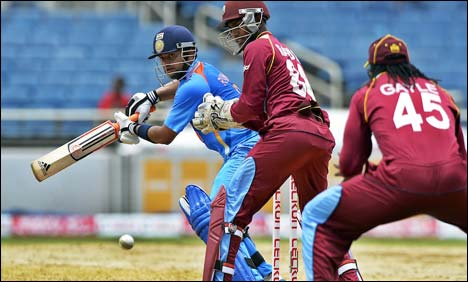 Cricket: West Indies tame India with one-wicket ODI victory