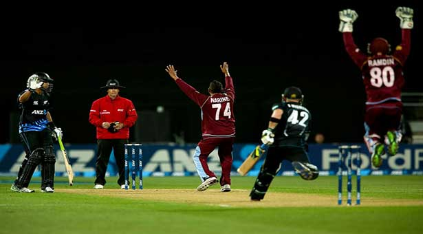 NZ beats Windies by 4 wickets to sweep T20 series