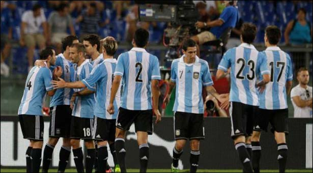 Argentina get the better of Italy despite Messi's absence