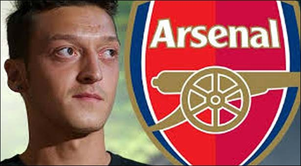 Arsenal sign Ozil at the last moment