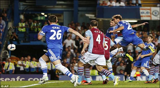 Chelsea fight hard to win 2-1 against Villa