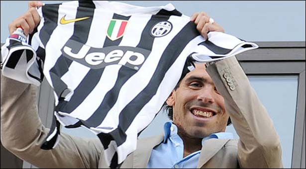 Tevez completes transfer to Juventus