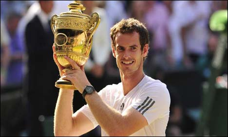 Murray wins Wimbledon title, ends 77-year agony