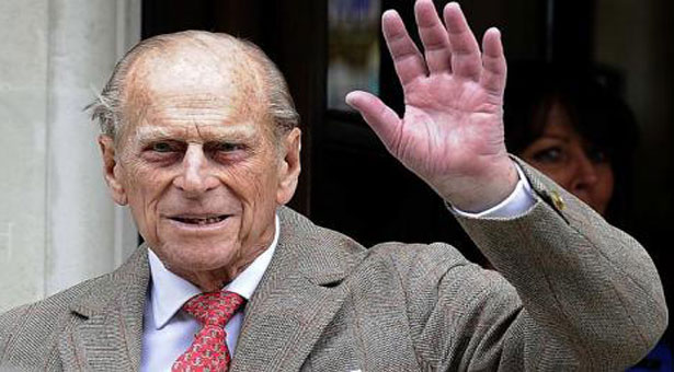 Britain's Prince Philip turns 92 in hospital