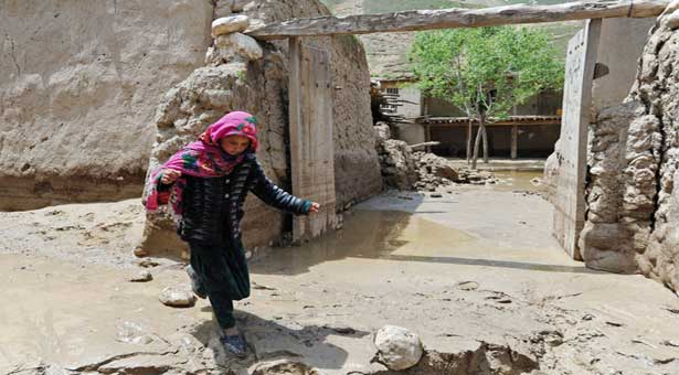 Flash floods in Afghanistan kill more than 40