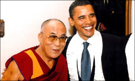 Obama meets with Dalai Lama despite China warning