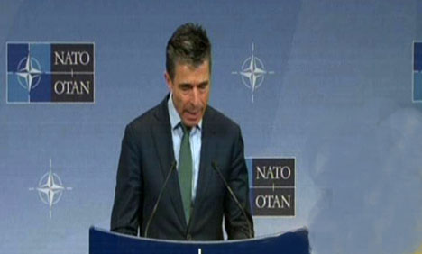 NATO suspends cooperation with Russia, sees no troop pullback