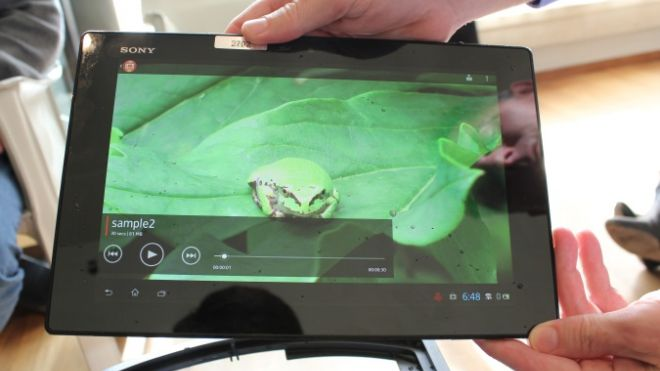 Sony Xperia Tablet Z is world's thinnest, goes underwater