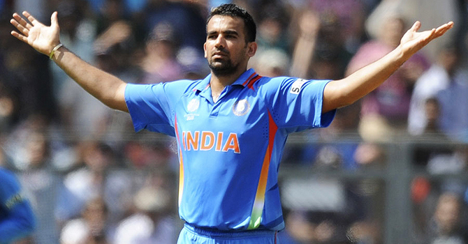 Zaheer out as India announce squads for Pakistan series