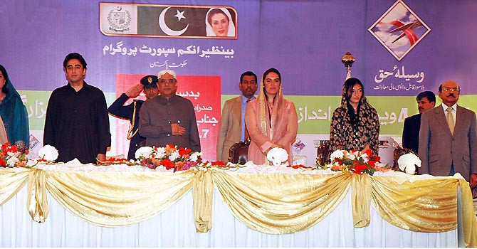 Zardari hints at expanding BISP
